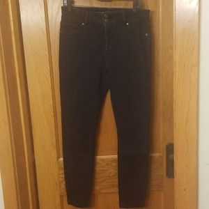 The Limited Denim high waisted jeggings